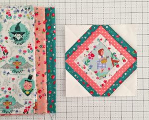 Mod Log Cabin Foundation Paper Piecing Quilt Block Free
